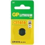 GP KNOOPCEL CR1616 LITHIUM 3V (1ST)