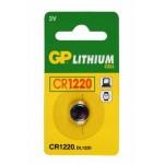 GP KNOOPCEL CR1220 LITHIUM 3V (1ST)