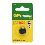 GP KNOOPCEL CR1620 LITHIUM 3V (1ST)