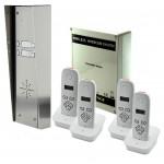AES 703-HS4 – 4 KNOPS PAKKET, MET 3 HANDSETS