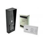 AES 603 DECT HF IMPK DRAADLOZE INTERCOM KIT (ZWART) MET CODETABLEAU