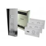 AES 703-HF-HS4 – 3 KNOPS PAKKET, MET 2 WANDSETS, PANEEL M