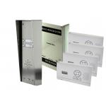 AES 703-HF-HS4 – 4 KNOPS PAKKET, MET 2 WANDSETS, PANEEL M