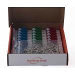 ELEKTRONISCHE SLEUTELHANGERS GEMENGD 30 IEDER + USB PROGRAMMEUR