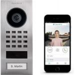 DOORBIRD IP VIDEOFOONSET D1101V OPBOUW RVS, 1 DRUKKNOP